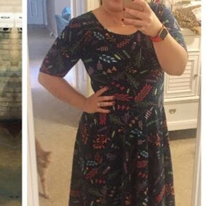 LuLaRoe Dresses - Lularoe Nicole Dress